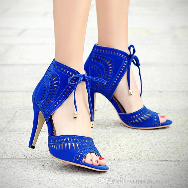 Grosshandel 100 Handgemachte Schuhe Frauen High Heels Schuhe Mode