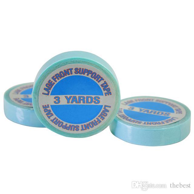 1x3m fuerte frente Súper cinta de encaje 3yards Adhesivos de cinta para la cinta del pelo Extensiones del cordón de las pelucas