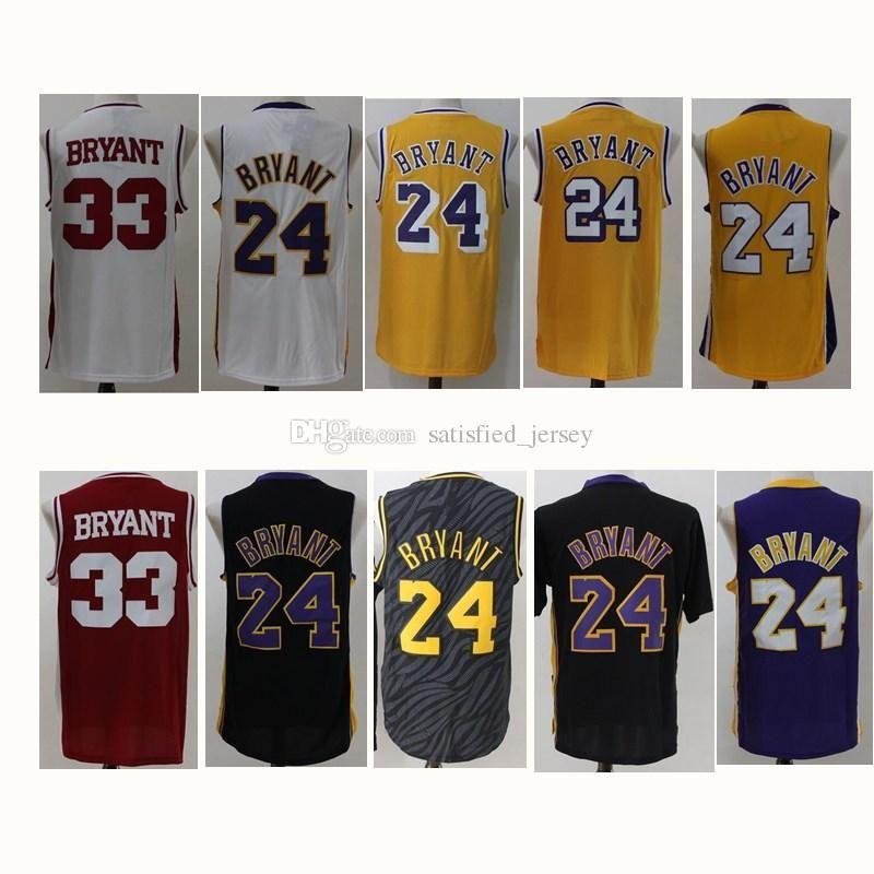 2d2f77bff60 ... Lower Merion 33 Bryant Basketball Jerseys Man 24 Kobe Bryant 33  KobeThrowback Jersey Black High School Jerseys Purple Stitched Shirt MPLS  MENS ...