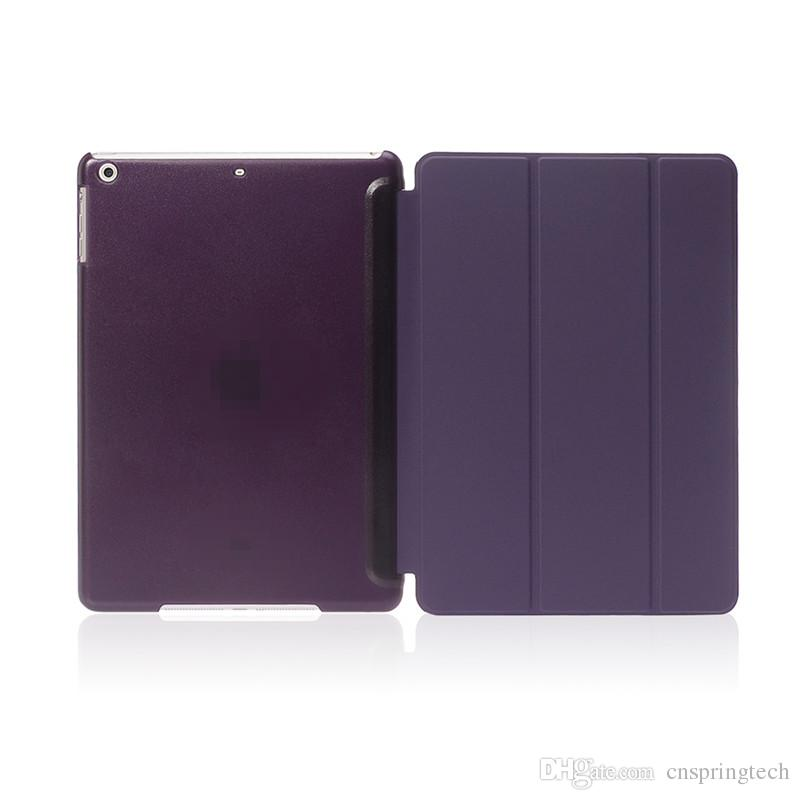 10 Farben für Ipad Mini mini2 mini3 mini4 Luft Air2 3 4 6Ultra dünner Foilo Abdeckung Schlagstand harte rückseitige Fall neue Ankunft