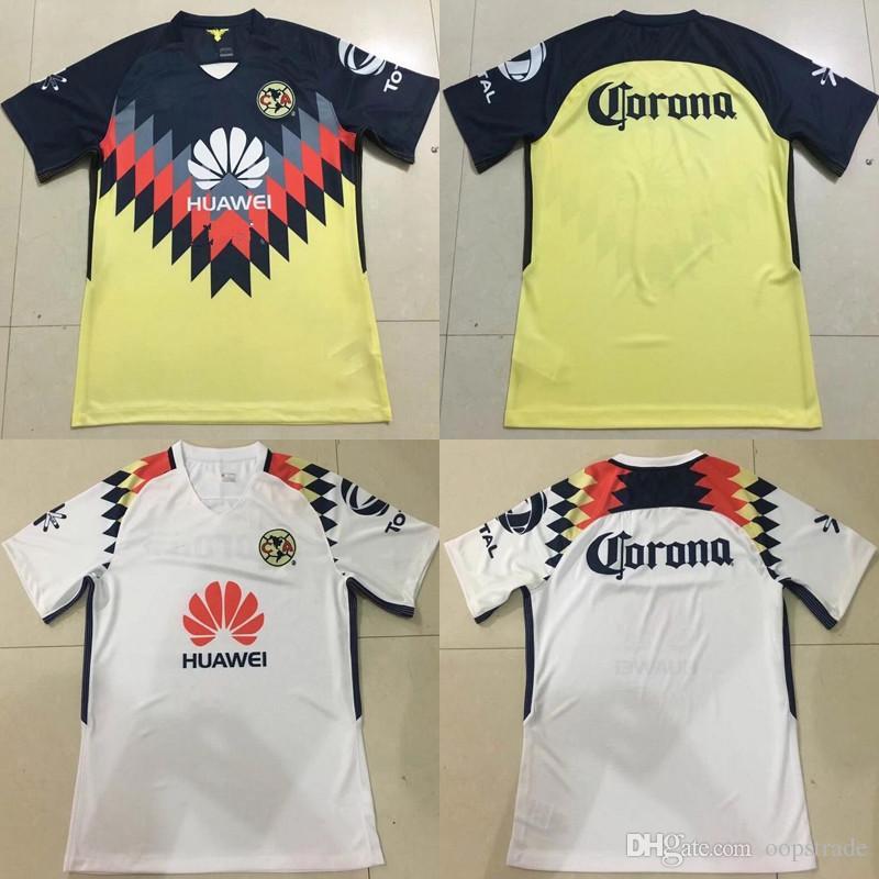 41171cec3 Thai Quality Newest Soccer Jerseys 2017 2018 Club De Futbol America Home  Away Third Shirt 9 R.Jimenez 22 P.Aguilar 14 R.Sambueza All Logos Liga MX  ClimaCool ...