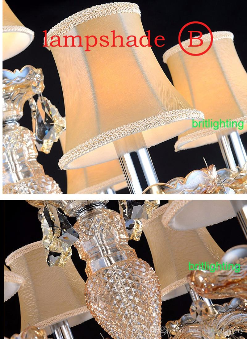 contemporary table lamp bedroom LED table Lamps candle modern Crystal table lighting glass arms wedding candelabra living room led desk lamp