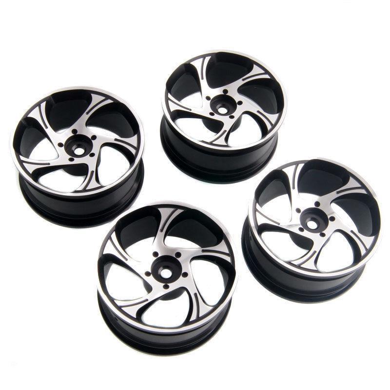 Rc Rim Black Aluminum Wheel For Hsp Sakura Hpi