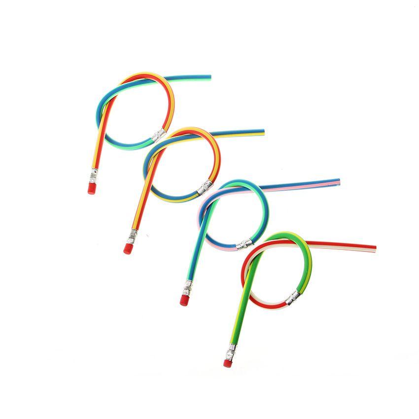 Cute Stationery Colorful Magic Bendy flessibile morbida matita con gomma Studente Ufficio scolastico Usa 1707006