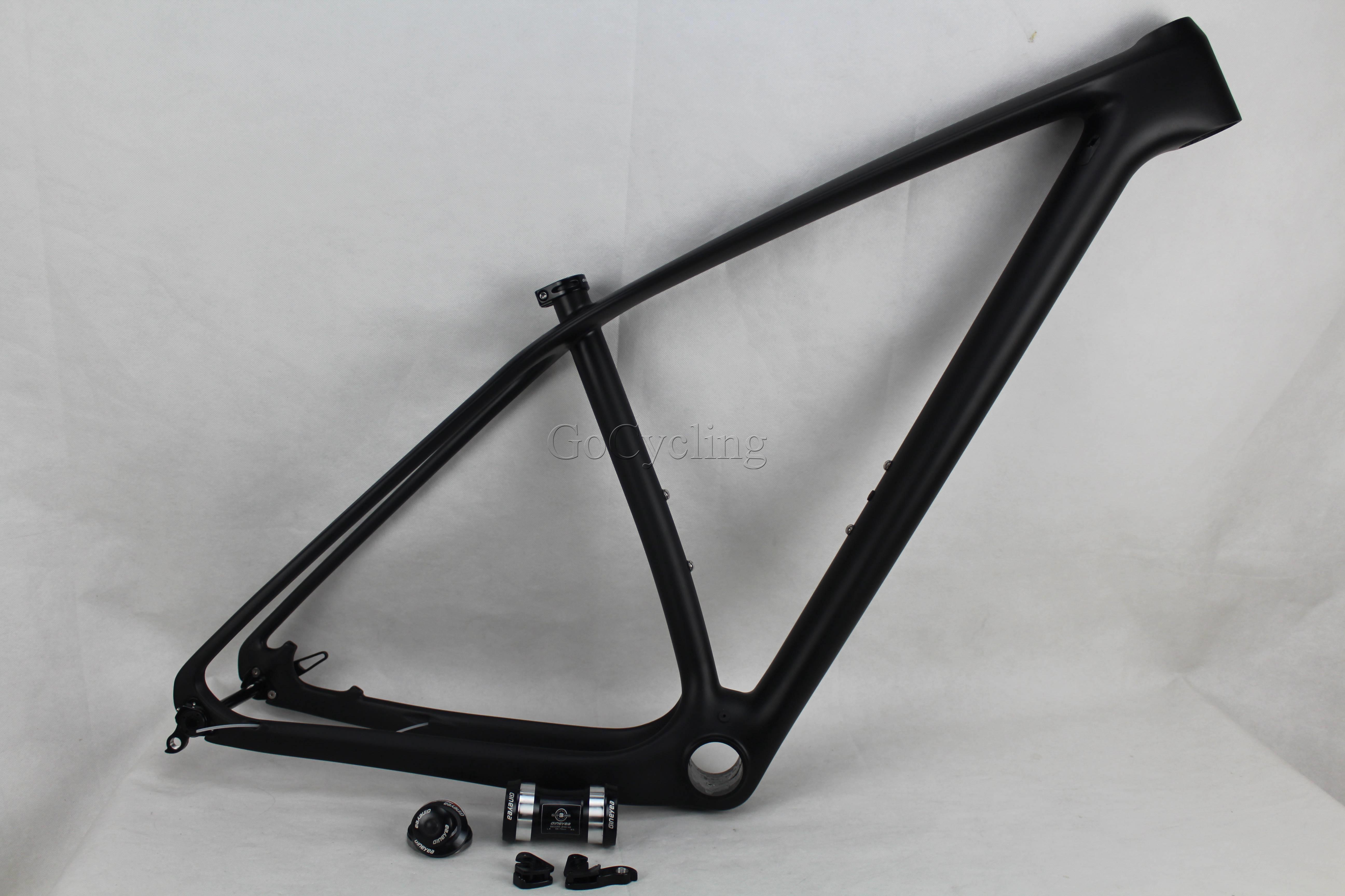MTB frame 29er T800 full carbon frame 142x12 thru axle MTB carbon frame 29er 135x9 compatible