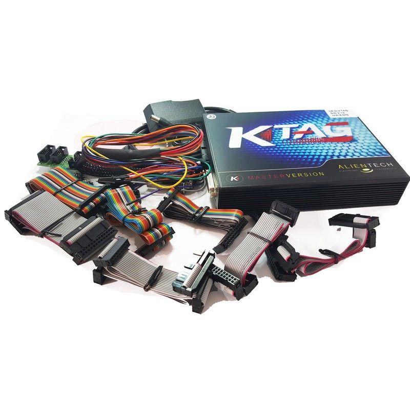 K TAG ECU Programador KTAG V2.13 Hardware V6.070 Sem Tokens de Limitação K TAG 2.13 Versão Principal ECU Chip Tuning Ferramenta
