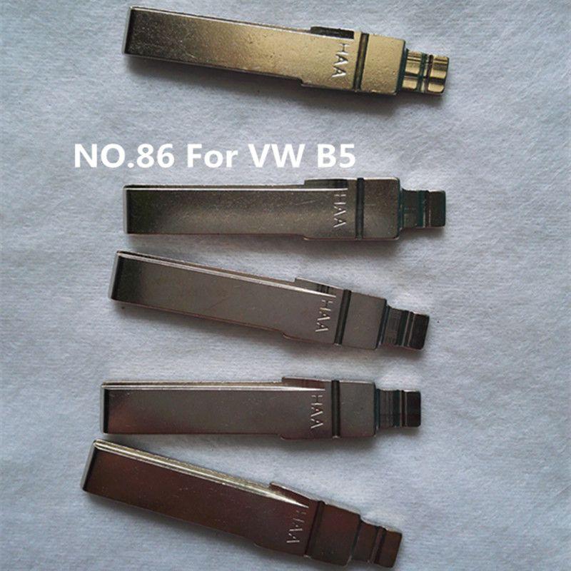 Replacement Car Remote Key Blade For VW B5 Sagitar Magotan Golf POLO Flip folding Remote key blade NO.86 KEY BLADE