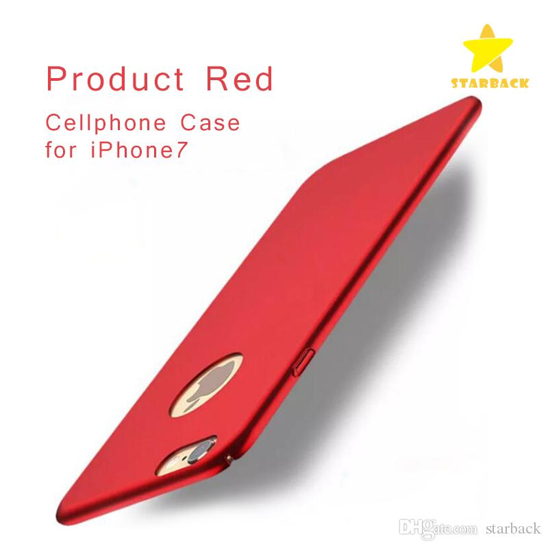 High Quality For iPhone 7/7 Plus Cellphone Case Product Red Special Edition Full Coverage 360 Degree with Package