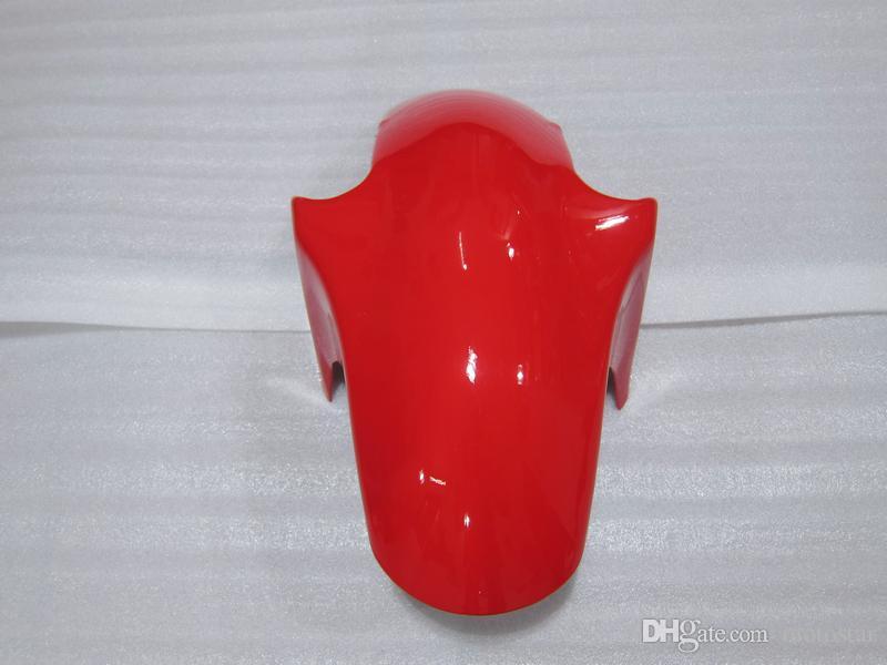 Kit carenado de plástico para Kawasaki Ninja ZX6R 1994-1997 carenados de motocicleta negro rojo set zx6r 94 95 96 97 OT24