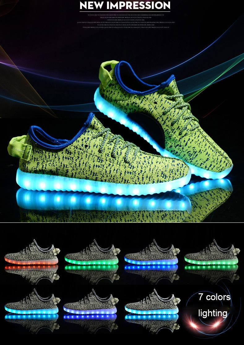 Led Shoes Lighting Shoes Led Luminous Sneakers Glowing Sneakers Size 24 To 45 For Kids And Adults Usb Charge Skechers Shoes Mens Dress Shoes From Marysun23 ...  sc 1 st  DHgate.com & Led Shoes Lighting Shoes Led Luminous Sneakers Glowing Sneakers ... azcodes.com