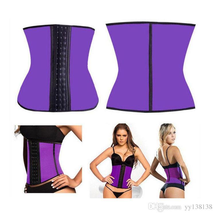En stock. Femmes Latex Taille Formation Cincher Underbust sculpture Minceur sculpture vêtements Corset Body Shaper Tour de taille