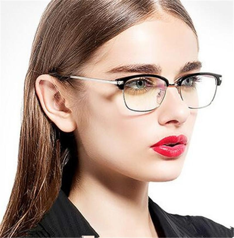 e3ca8ed023f 2019 Wholesale HOT Selling Eyewear Frame Glasses Women Brand Designer  Glasses Frame Woman Classic Eyeglasses Frames Men Oculos De Grau Feminino  From ...