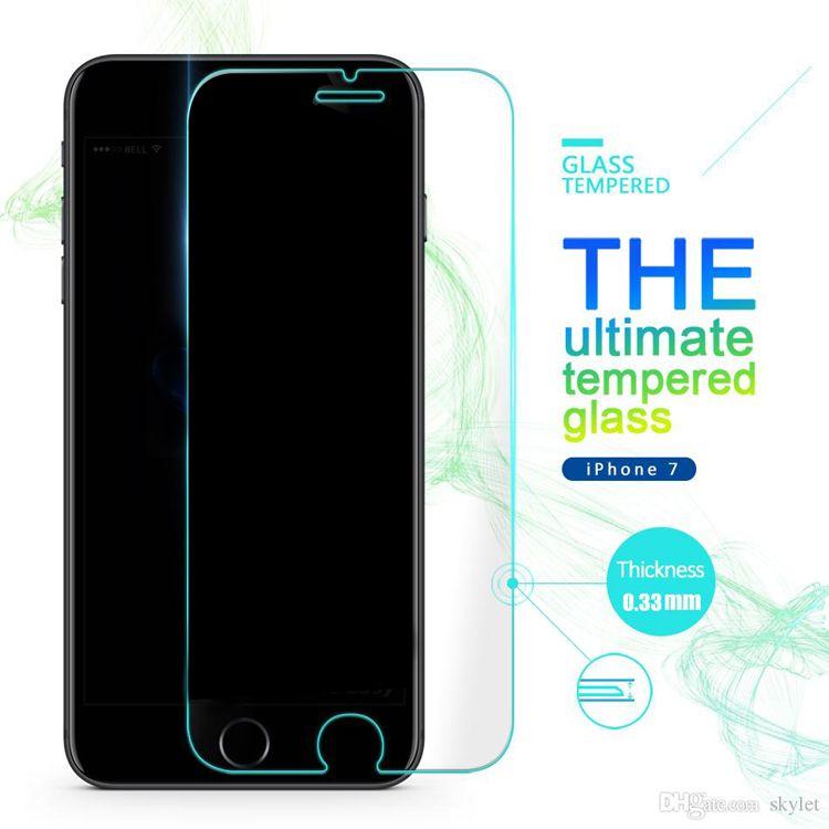 SUPERFAST Yeni iPhone Ekran Koruyucu Için XS MAX XR Temperli Cam Koruyucu Film Perakende Kutusu ile LG Q7 Artı K30 Galaxy A6 2018 için 0.33mm