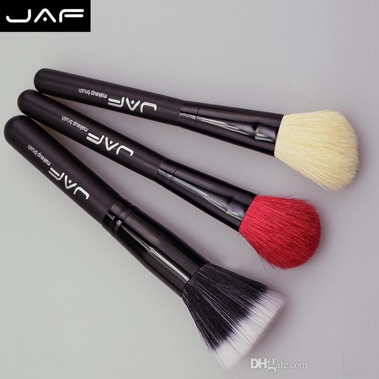 JAF 의 메이크업 브러쉬 자연 동물 붉은 염소 머리 조랑말 말 머리 전문 메이크업 브러쉬 세트 J1802P - B