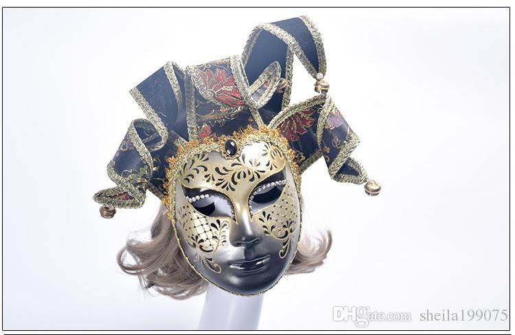 2017 YENI Venedik İtalya Masquerade Maske Maske Cadılar Bayramı Partisi Maskesi