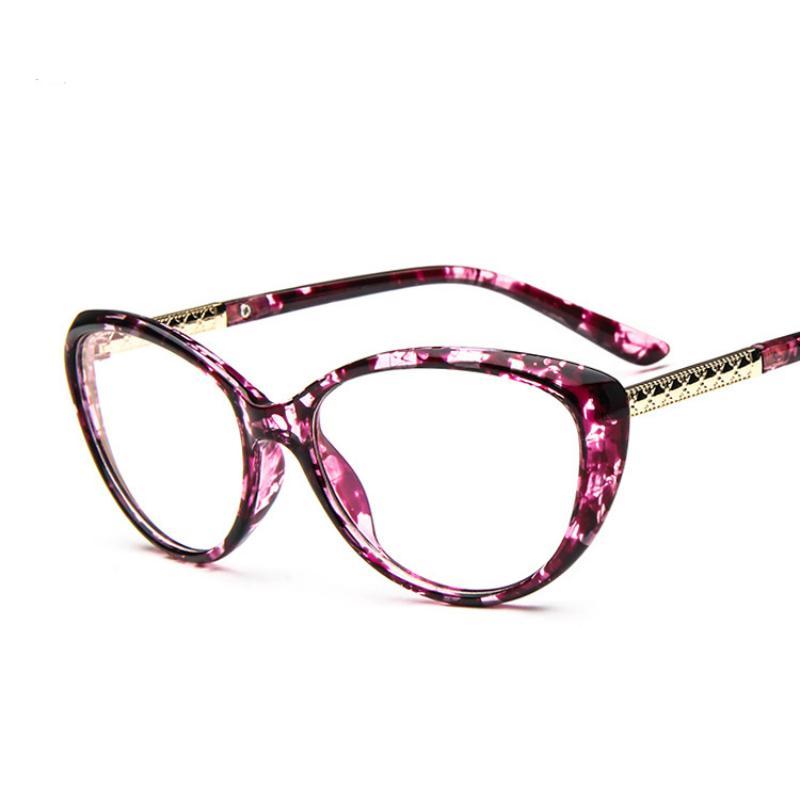 7c761ceee0f 2019 Wholesale ANEWISH Glasses Frame Eyewear Women Coating Computer Glasses  Optical Cat Eye Eyeglasses Anti Radiation Anti Fatigue Nerd Oculos From  Juaner