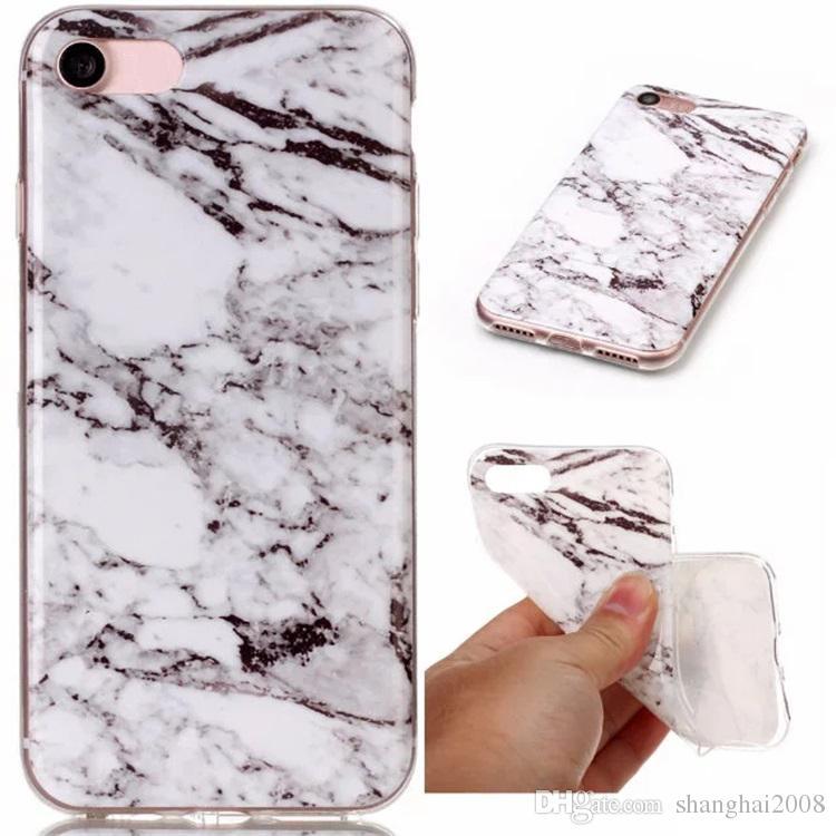 Fashion Stone Marble Rock Grain Soft TPU IMD Case For Galaxy S8/Edge/S7/Edge/S6/Grand Prime G530/J5/J7/J3 J310/J510/J710/S5 Gel Covers Skin