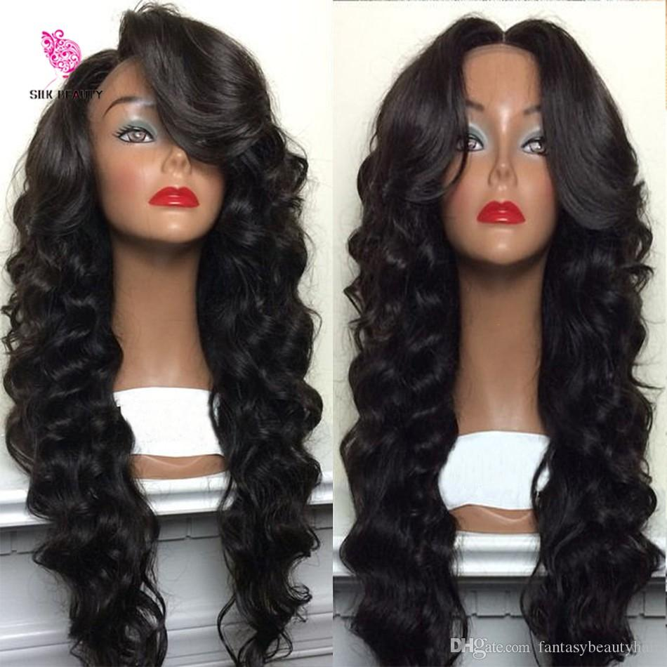 8A Glueless Cheap Full Lace Wig Brazilian