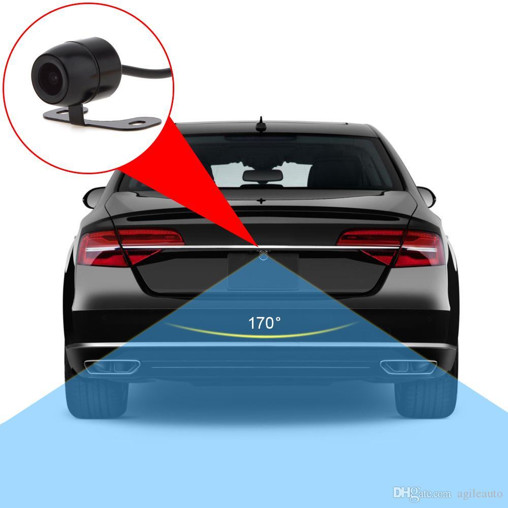 عروض سوبر 420TVL ميني كاميرا للرؤية الخلفية للرؤية الليلية E306 18 مم لون CCD خارج Waterpoof للشاشات CAL_025