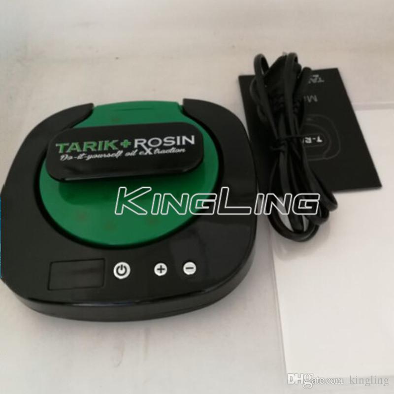 NEW Tarik Rosin Press T-Rex machine d'extraction de cire d'huile, mini huile Rosin tech outil de presse à chaud en gros