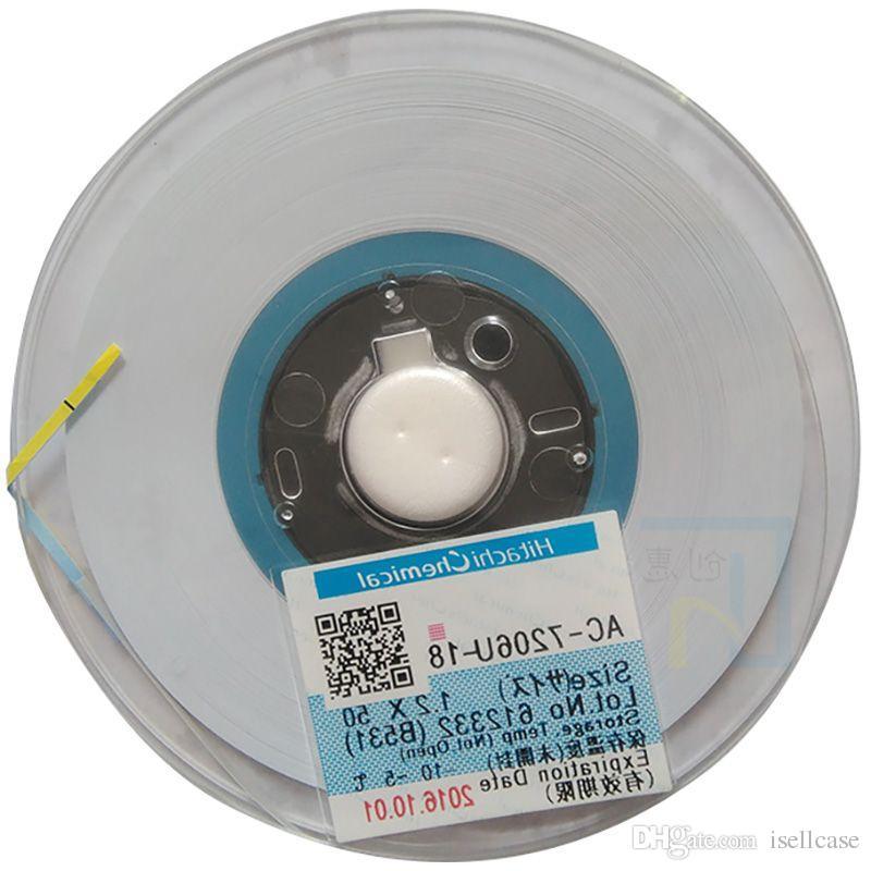 new glue for hitachi ac 7106u 25 w1 5mm l50m acf conductive film rh dhgate com