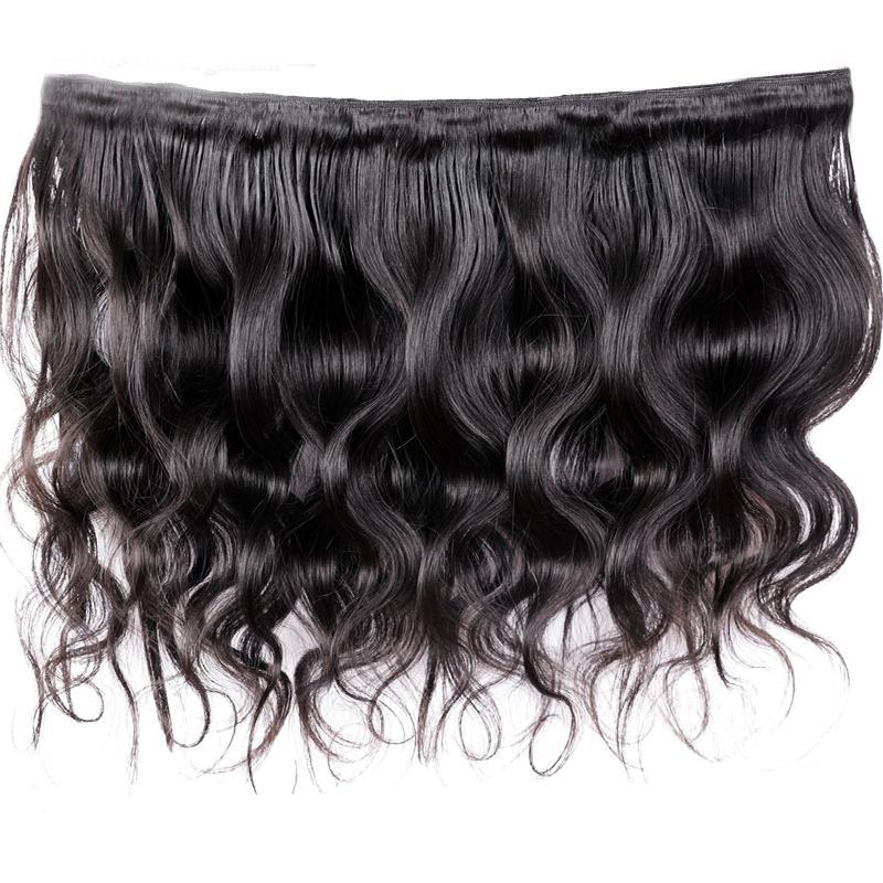 Cheap Indian Virgin Hair Weaves Body Wave Remy Human Hair Extensions Brazilian Peruvian Malaysian Mongolian Hair Bundles 8-30 Inch