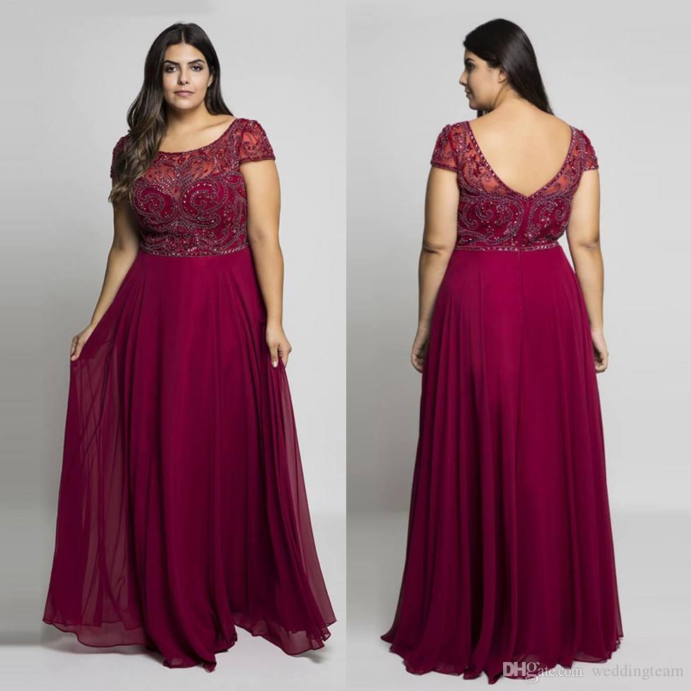 Plus Size Floor Length Dresses