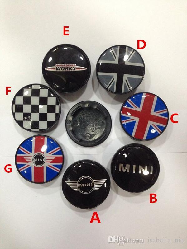 500x Mini 54mm Alloy Wheel Centre Hub Caps Emblem Badge