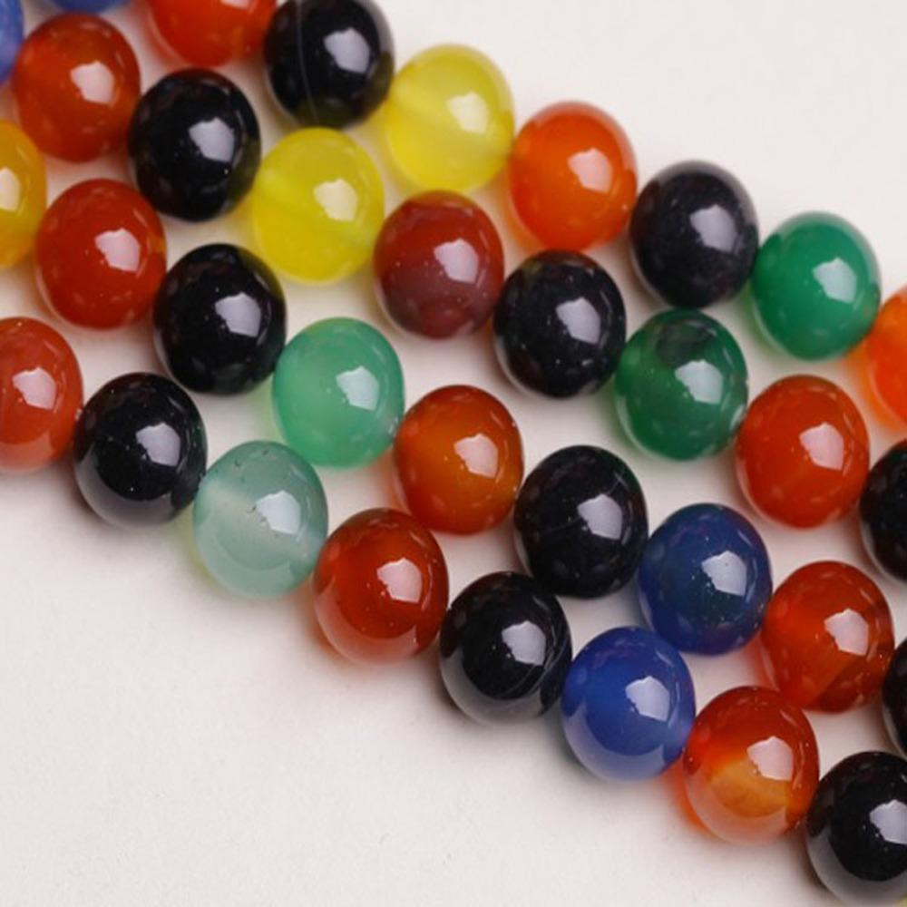 5A Quality !Colorful Agate Stone Beads 16