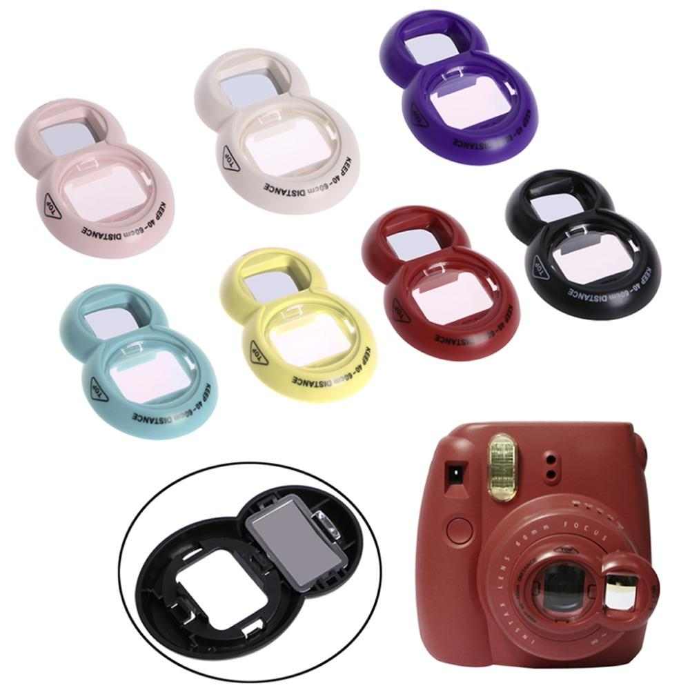 Close UP Lens Self Portrait Mirror For Fuji Fujifilm Instax Mini 7/8 Selfie Newest