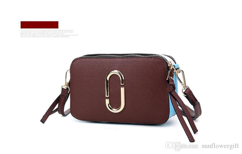 Hot Sale New Colorful PU Shoulder Bags Spring New Small Square ... 1ef7534c83a43