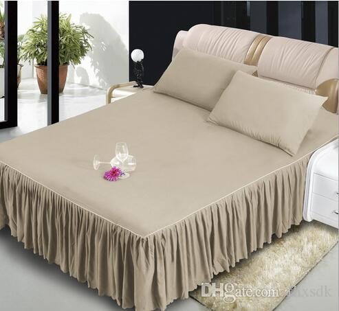 Bed Skirt King Size Skirts For Double Single Twin Full Queen King Size  Bedding Bed Skirt 0644824f8