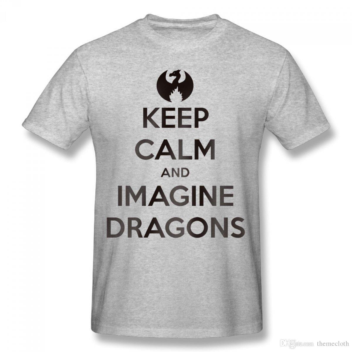 Cheap Summer Men Imagine Dragons T Shirts Design Short Sleeved T ...