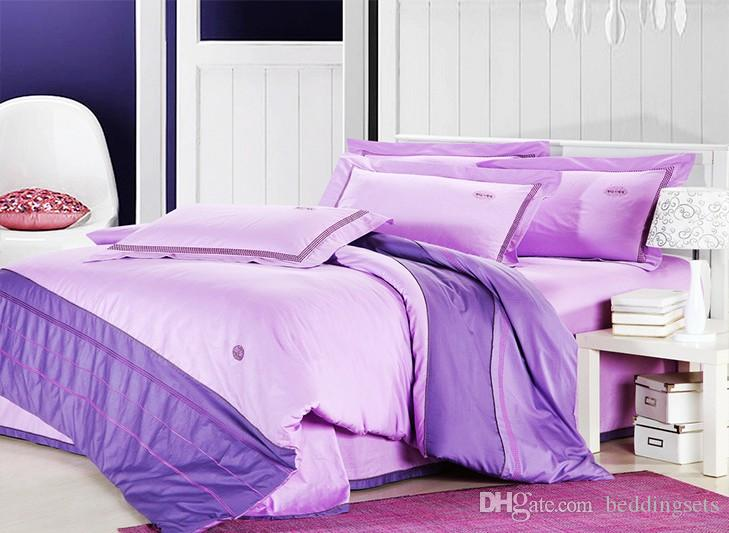 Classical cream luxury bedding set Queen/King size 100% cotton embroidery home hotel comforter cover bedsheet set/B2178