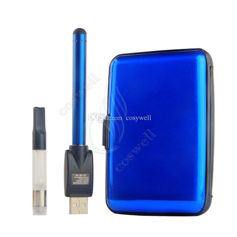 Top CE3 BUD Touch Colorful Box Kit 510 Cartridge Thick Oil Vaporizer Atomizer O Pen vapor Thick Waxy vape Mini cartomizers WAX Tank vapors