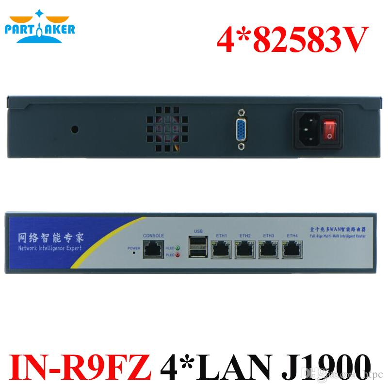 Internet Router ROS 4 82583V LAN Server with Intel Quad Core J1900 Pfsense  PARTAKER VPN Router