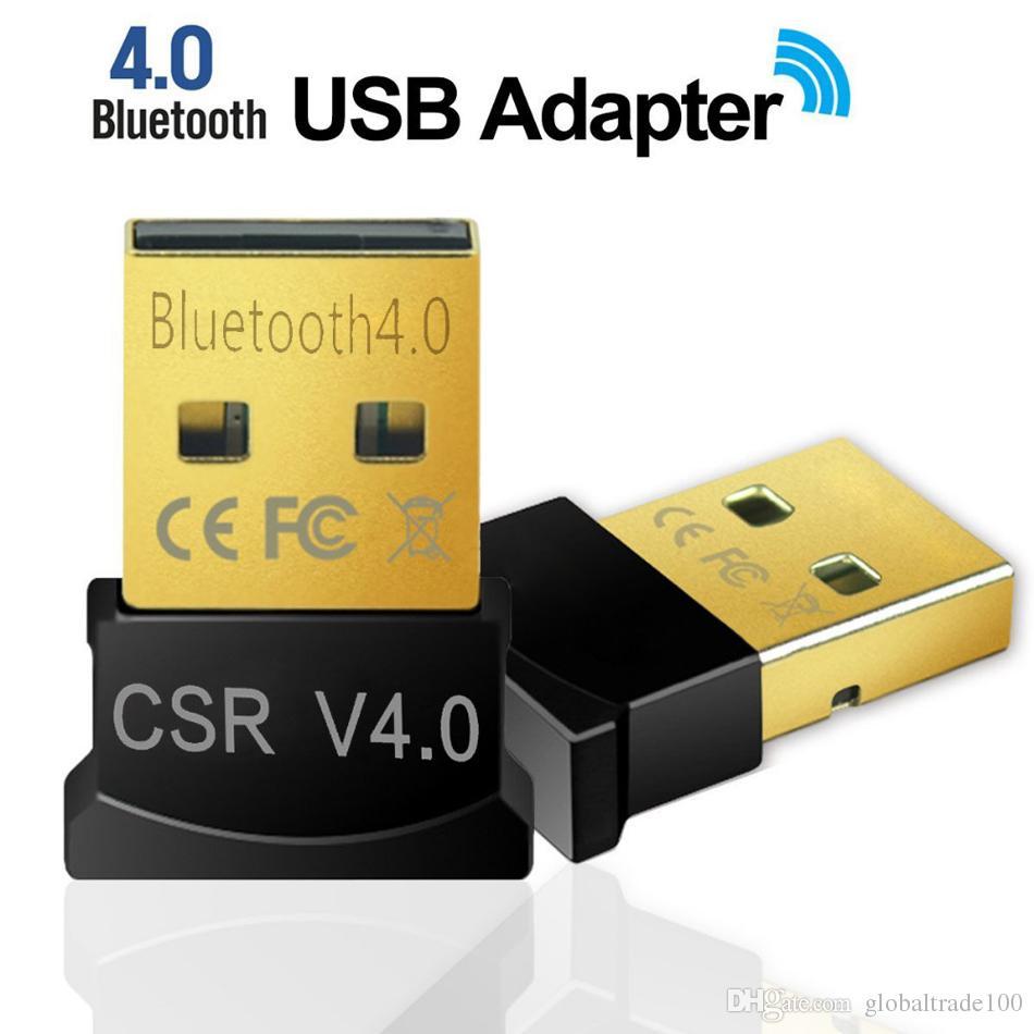 Mini USB Bluetooth Adapter V4 0 Dual Mode Wireless Bluetooth Dongle CSR 4 0  Windows 10 8 Win 7 Vista XP 32/64