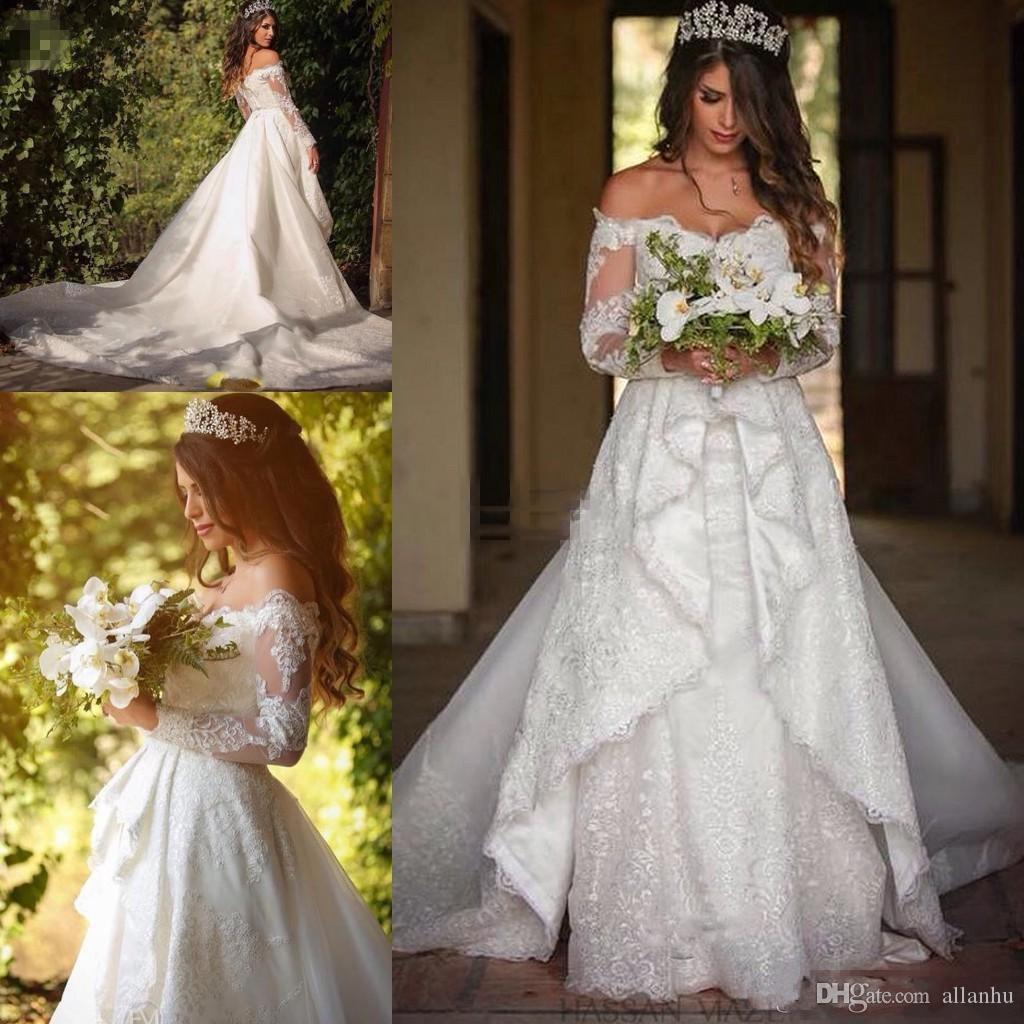 Discount 2017 New Fashion Full Lace Vintage Wedding