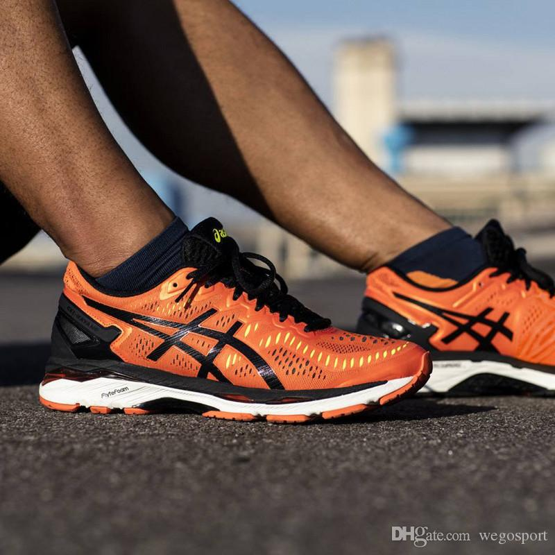 2018 Wholesale Price New Style Asics Gel-kayano 23 Running Shoes For Men Original Sneakers Athletic Sport Shoes Size 40-45