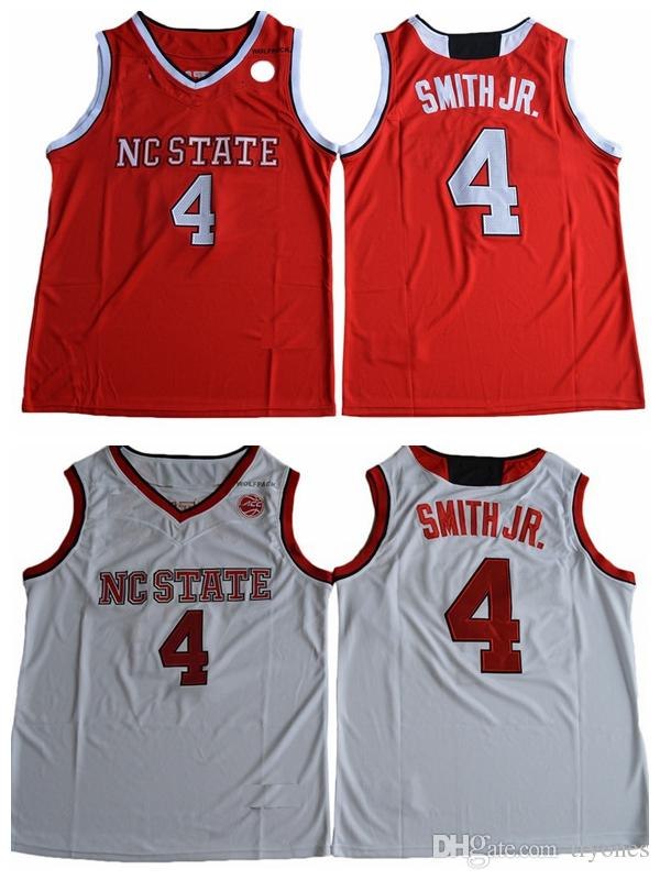 30c3a3d51 2019 2017 NEWEST NC State Wolfpack Dennis Smith Jr. College Basketball  Jersey Cheap 4 Dennis Smith Jr. Shirts Stitched Basketball Jersey Mens From  Tryones