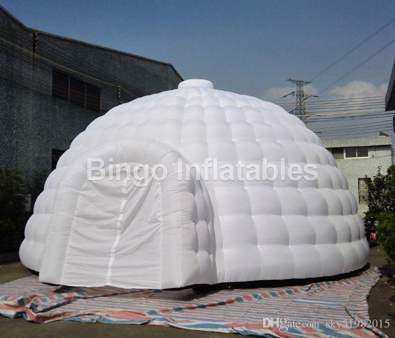 2018 Big Outdoor Igloo Tent/Inflatable Dome Tent With Door 8m Diameter For Party/Events/Advertising Toy Tent From Sky51982015 $1597.99 | Dhgate.Com & 2018 Big Outdoor Igloo Tent/Inflatable Dome Tent With Door 8m ...