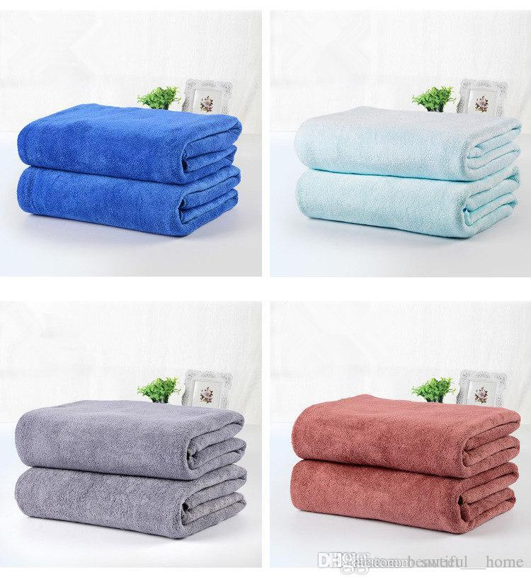 Best Bath Towels 2017 Interesting 60 60g Flanne Bath Towels Beach Drying Bath Washcloth Shower