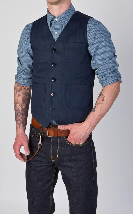 Men Mens Vests Navy Made Blue Casual For Custom Style Wholesale OpYqwSx