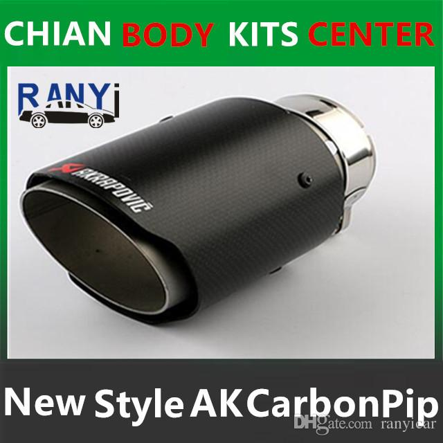 Best One Pcs 76mm Inlet 114mm Outlet Akrapovic Exhaust Tip Universal Carbon Fiber Car Exhaust Pipe Tail Muffler Tip Under $41.03   Dhgate.Com  sc 1 st  DHgate.com & Best One Pcs 76mm Inlet 114mm Outlet Akrapovic Exhaust Tip Universal ...