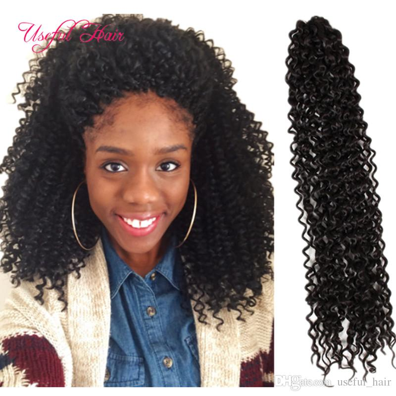 20 Curly Freetress Water Wave Crochet Hair Extensions Free Tress