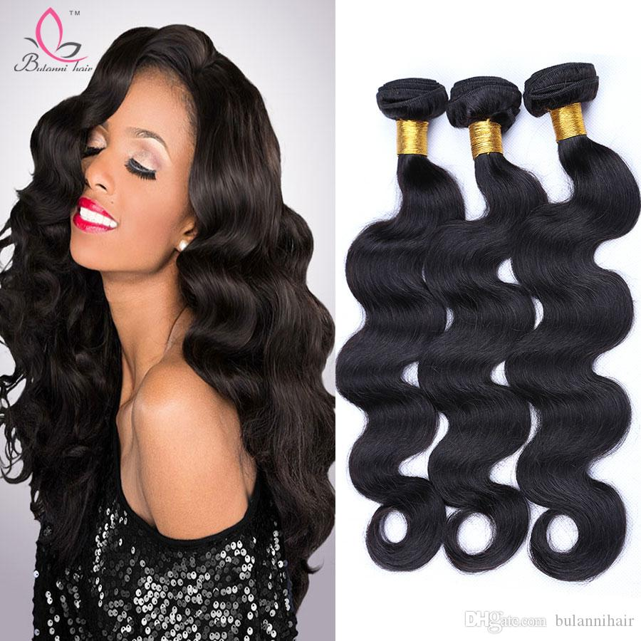 Human Hair Weave 3 Bundles European Virgin Human Hair Body Wave