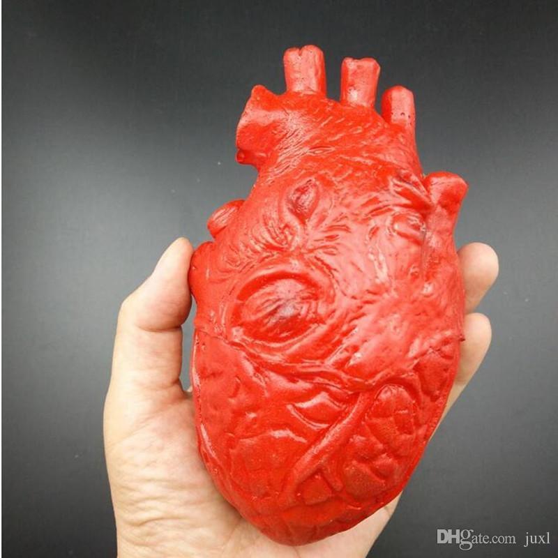 Simulación Órganos Humanos Props Horror Sangriento Cerebro Humano Ojos Corazón Dedo Roto Fiesta de Halloween Disfraces Accesorios Decoraciones