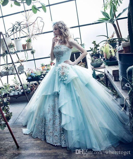 민트 그린 볼 가운 Quinceanera 드레스 가운 프린세스 크리스탈 댄스 파티 드레스 달콤한 16 볼 가운 정장 특별한 저녁 파티 드레스