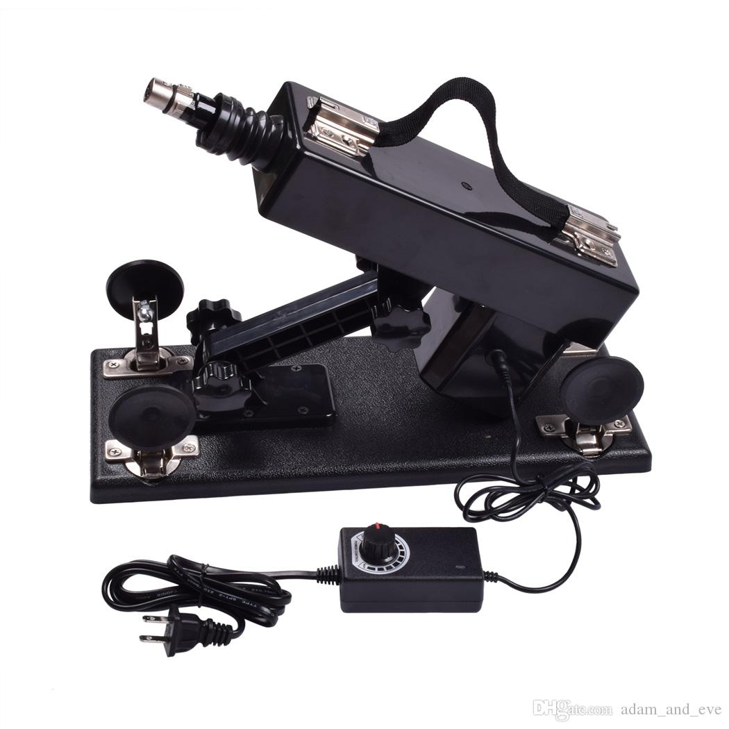 Pistole automatiche Sex Machine con molti accessori Dildo Sexual Intercourse Robot Sex Machine 6cm Masturbatore femminile retrattile