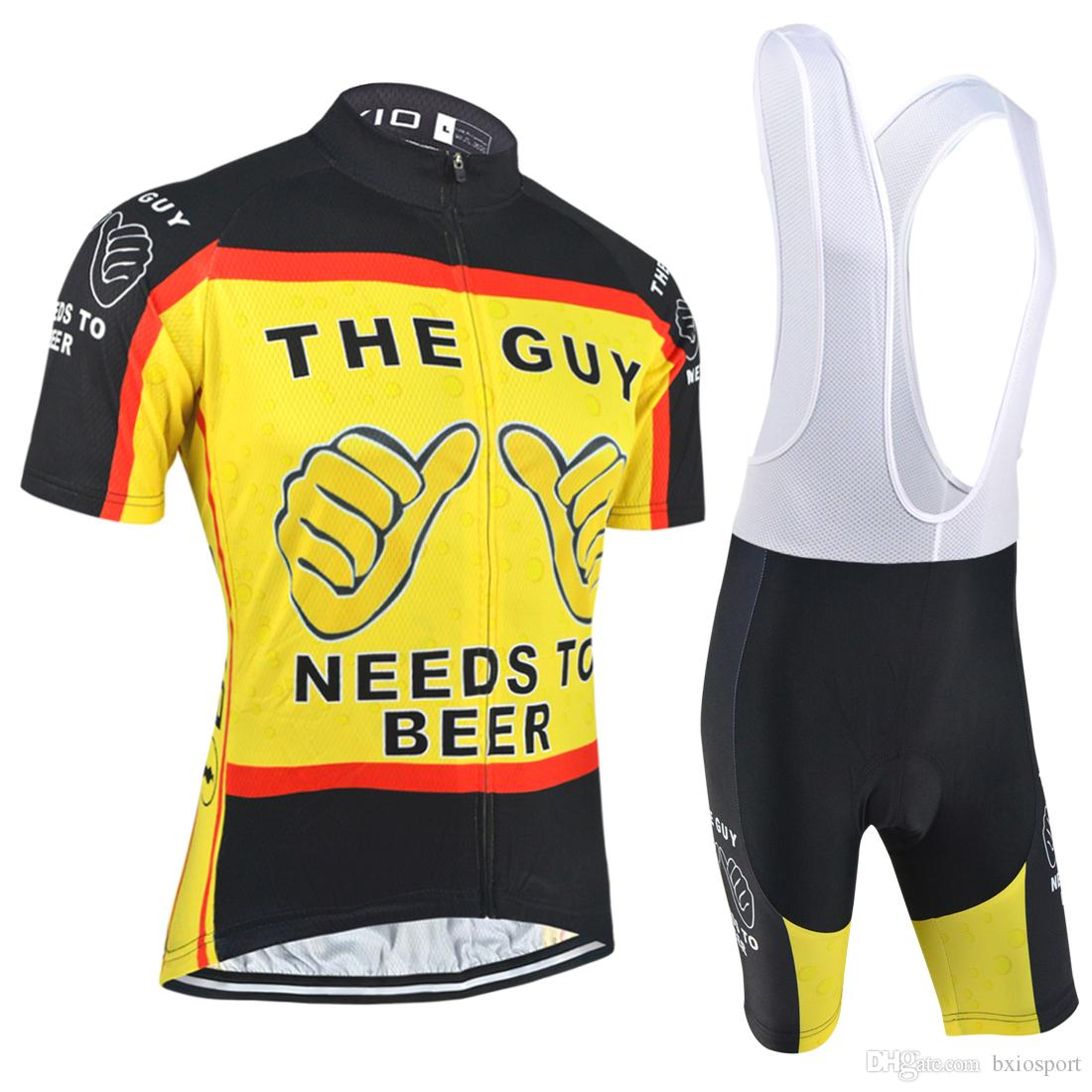 Bxio New Arrival Men Cycling Jersey Summer Short Sleeve Yellow Cycling  Clothes Set Quick Dry Bicycle Clothes Breathable Ropa Ciclismo Bx 035 Cycle  Gear ... 368739029